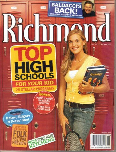 Richmond Magazine, October 2005 David Baldacci article interview