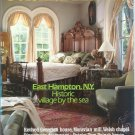 COLONIAL HOMES April 1990 Magazine EAST HAMPTON NY Dinnerware decoupage TOM PAINE's HOUSE