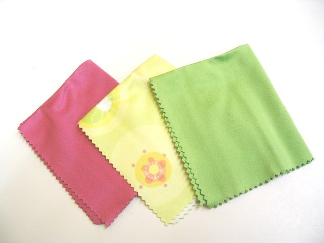 Three Pack Microfiber Cloths