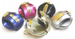 Visor Clip for your car, Champagne
