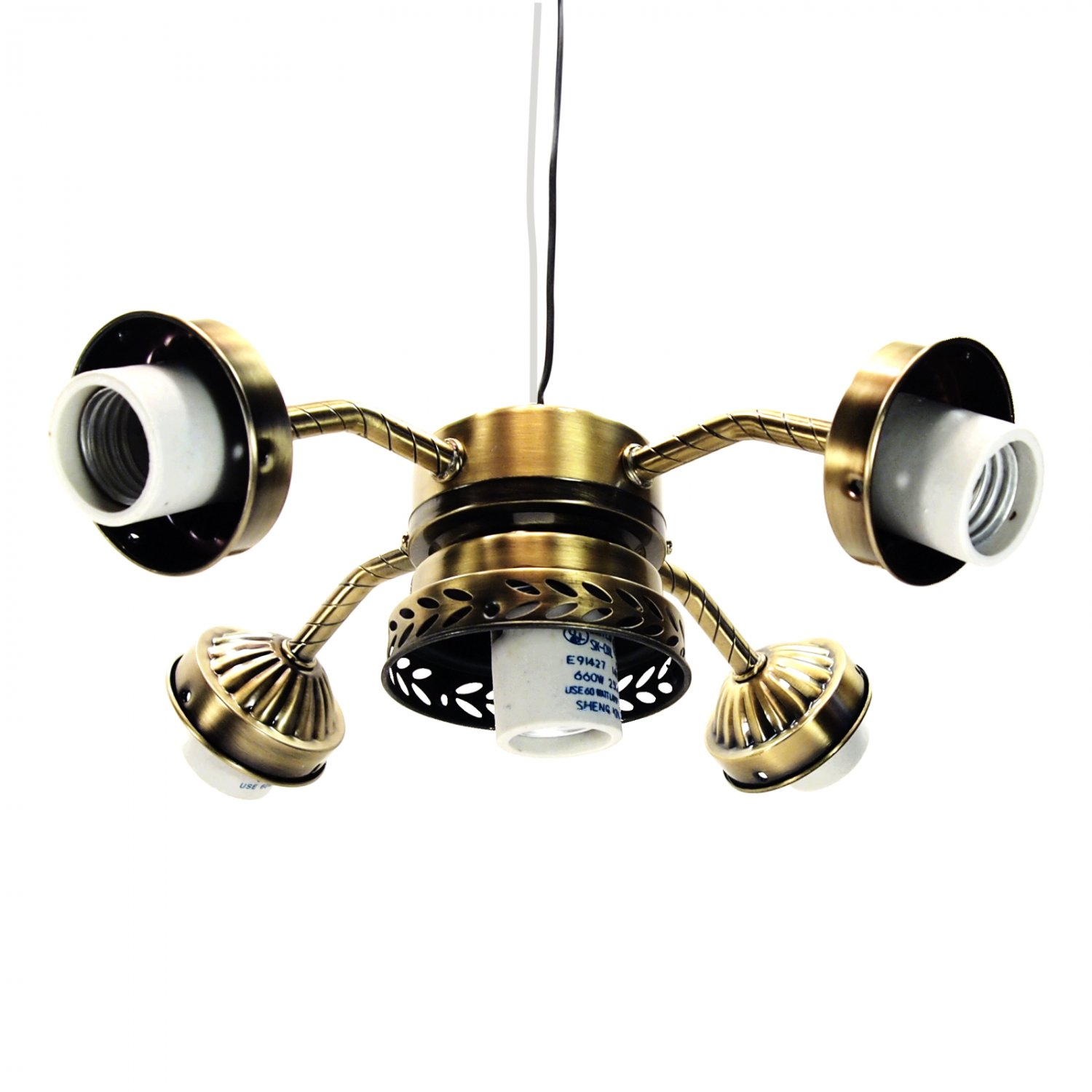 Hunter Allendale 52 Antique Brass Ceiling Fan At Menards: Antique Brass Ceiling Fan Light Kit