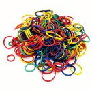 Dog Hair Rubber Bands (QTY 275) Pet Puppy Grooming MultiColor _61-020