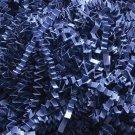 Crinkle Cut Paper Shred Gift Basket Filler - Navy Blue - 3.5 oz New _171-16