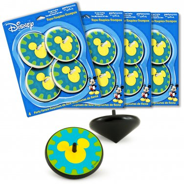 Mickey's Clubhouse Spinning Tops Kids Birthday Party Favors 16 pcs (4 x 4/pk) _3132
