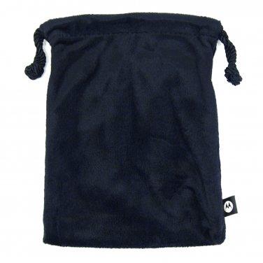 "Universal 7"" Tablet iPad Mini Black Velvet Pouch with 3 Pockets Motorola _182-26"