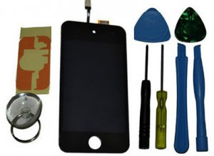 LCD Digitizer Display Glass Screen Assembly Replacement for Black Apple iPhone 4s 4 s 4gs