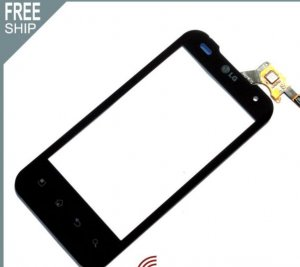 Replacement glass touch Screen Digitizer display for T-Mobile LG G2X 4G P999 cellphone