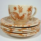 Vintage Johnson Brothers Cup & Saucer Set