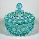 Vintage Fenton Hobnail Candy Dish