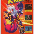X-Men GamesMaster's Legacy PRINT AD Sega video game advertisement '90s 1994