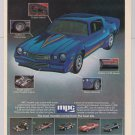 Turbo Z-28 MPC model kit PRINT AD muscle car Z28 hot rod &#39;80s advertisement 1981