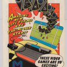 M Network PRINT AD Mattel Electronics video games '80s advertisement 1982
