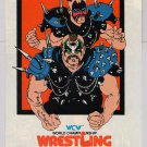 WCW Wrestling Road Warriors video game PRINT AD Nintendo NWA '80s advertisement 1989