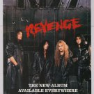 KISS Revenge album PRINT AD Mercury &#39;90s advertisement 1992