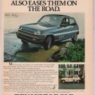 LE CAR Renault PRINT AD auto vintage advertisement 1980