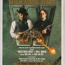 WILL SMITH Wild Wild West movie soundtrack PRINT AD Kevin Kline '90s advertisement 1999