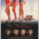 Drop Dead Gorgeous movie PRINT AD Kirsten Dunst DENISE RICHARDS '90s advertisement 1999