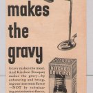 Kitchen Bouquet '40s PRINT AD gravy vintage advertisement 1944