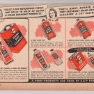 A-Penn cleaning products '40s PRINT AD vintage advertisement 1944
