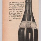 Canada Dry '40s PRINT AD ginger ale vintage advertisement soft drink 1944
