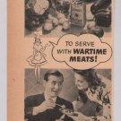Colman's Mustard '40s PRINT AD Victory Garden vintage advertisement 1944