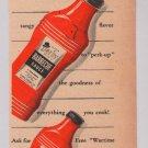 Derby sauces '40s PRINT AD Glaser vintage advertisement 1944