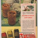 A&P Coffee '40s iced vintage advertisement original ad A & P 1944