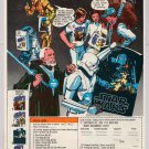 Star Wars PRINT AD Galaxy of Treasures HAN SOLO Stormtrooper OBI-WAN KENOBI '70s