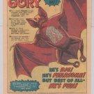 GRE-GORY vampire bat PRINT AD Mattel toy vintage advertisement 1980