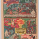 NBC Saturday Morning tv PRINT AD Flintstones Godzilla Herculoids Space Ghost 1980