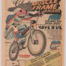 Columbia Muscle Frame Racers '80s PRINT AD Pro-Am HP1 BMX bike bicycle 1983
