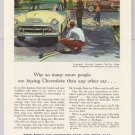 Chevrolet PRINT AD Chevy Two-Ten 4-door sedan '50s automobile car auto vintage 1953