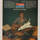 Monogram model kits PRINT AD Superscale NASA Space Shuttle B-17 hot rod vintage 1980