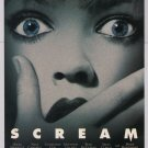 SCREAM horror movie PRINT AD Drew Barrymore '90s advertisement 1996