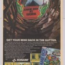 TMNT Back from the Sewers '90s PRINT AD Teenage Mutant Ninja Turtles video Game Boy Nintendo 1991