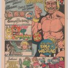 CBS Saturday Morning TV '80s PRINT AD Muppets Babies HULK HOGAN Berenstain Bears vintage 1985