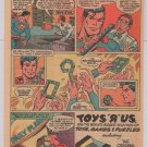 Magic Snake &#39;80s PRINT AD toy Superman Toys R Us vintage comic style advertisement 1982