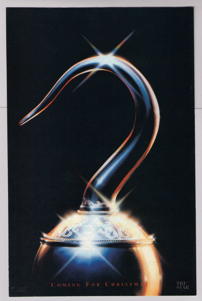 """Hook movie '90s PRINT AD Peter Pan """"Coming for Christmas"""" film advertisement 1991"""