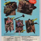 G.I. Joe action figures '80s PRINT AD toys vehicles GI Joe Hasbro vintage advertisement 1988