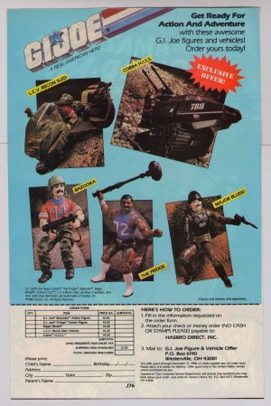 G.I. Joe action figures '80s PRINT AD toys vehicles GI Joe Hasbro advertisement 1988