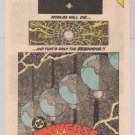 Universe: Crisis on Infinite Earths '80s PRINT AD prelimnary promo advertisement DC Comics 1985
