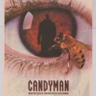 CANDYMAN horror movie '90s PRINT AD Clive Barker film advertisement 1992