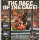 WWF wrestling video games '90s PRINT AD advertisement Nintendo 1992