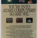 Parker Brothers video games '80s PRINT AD Q*bert FROGGER Popeye ATARI advertisement 1984