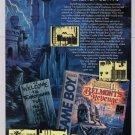 Castlevania II video game '90s PRINT AD Konami advertisement Game Boy 1991