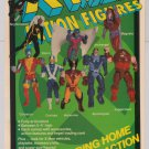 X-MEN Toy Biz action figures '90s PRINT AD advertisement 1991