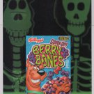 Scooby-Doo Berry Bones 2-sided PRINT AD Kellogg's cereal advertisement x-ray 2005