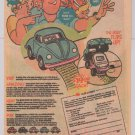 Volkswagen Beetle VW Bug wristwatch &#39;80s PRINT AD Howard Cruse advertisement 1986