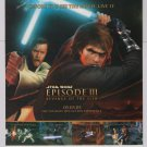 Star Wars Episode III video game PRINT AD LucasArts advertisement 2005