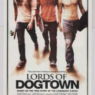 Lords of Dogtown movie PRINT AD film advertisement skateboarder 2005